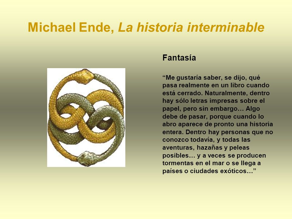 Michael Ende, La historia interminable