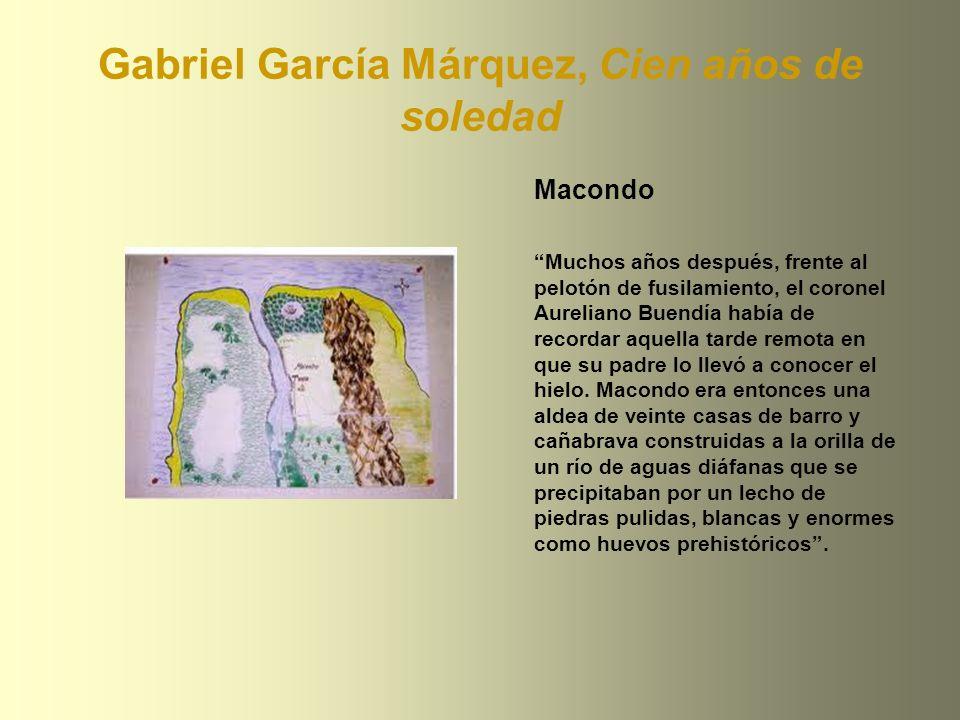 Gabriel García Márquez, Cien años de soledad
