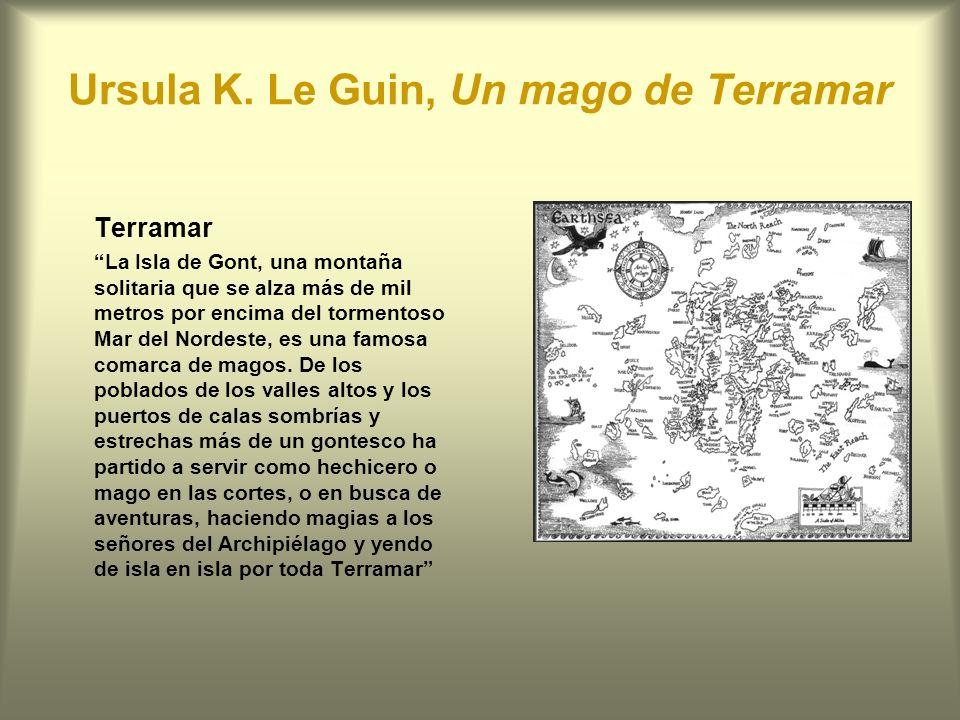 Ursula K. Le Guin, Un mago de Terramar