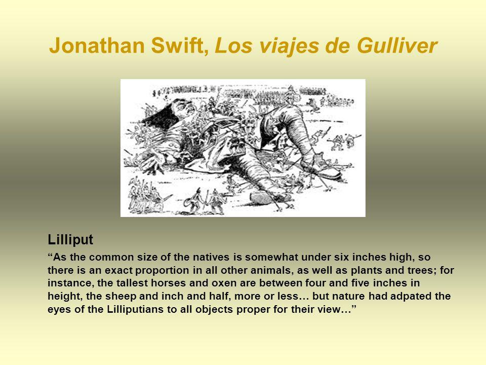 Jonathan Swift, Los viajes de Gulliver