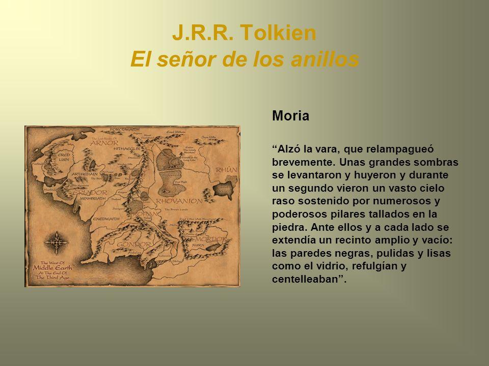 J.R.R. Tolkien El señor de los anillos