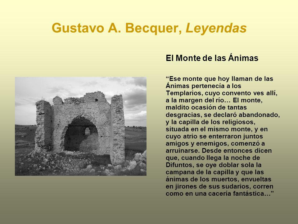 Gustavo A. Becquer, Leyendas