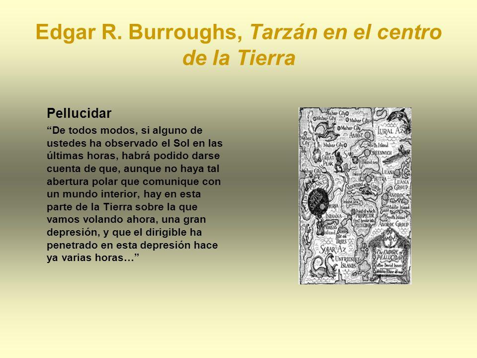 Edgar R. Burroughs, Tarzán en el centro de la Tierra