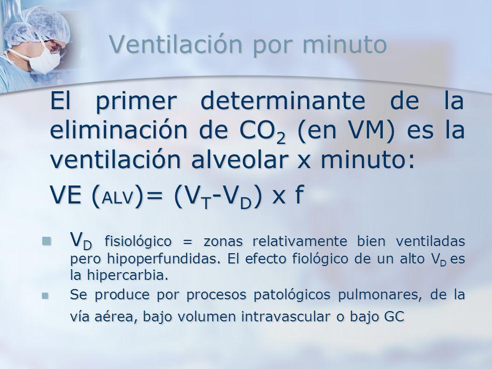 Ventilación por minuto