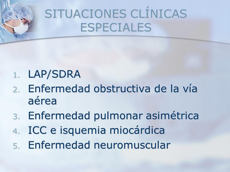 SITUACIONES CLÍNICAS ESPECIALES