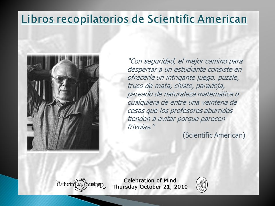 Libros recopilatorios de Scientific American