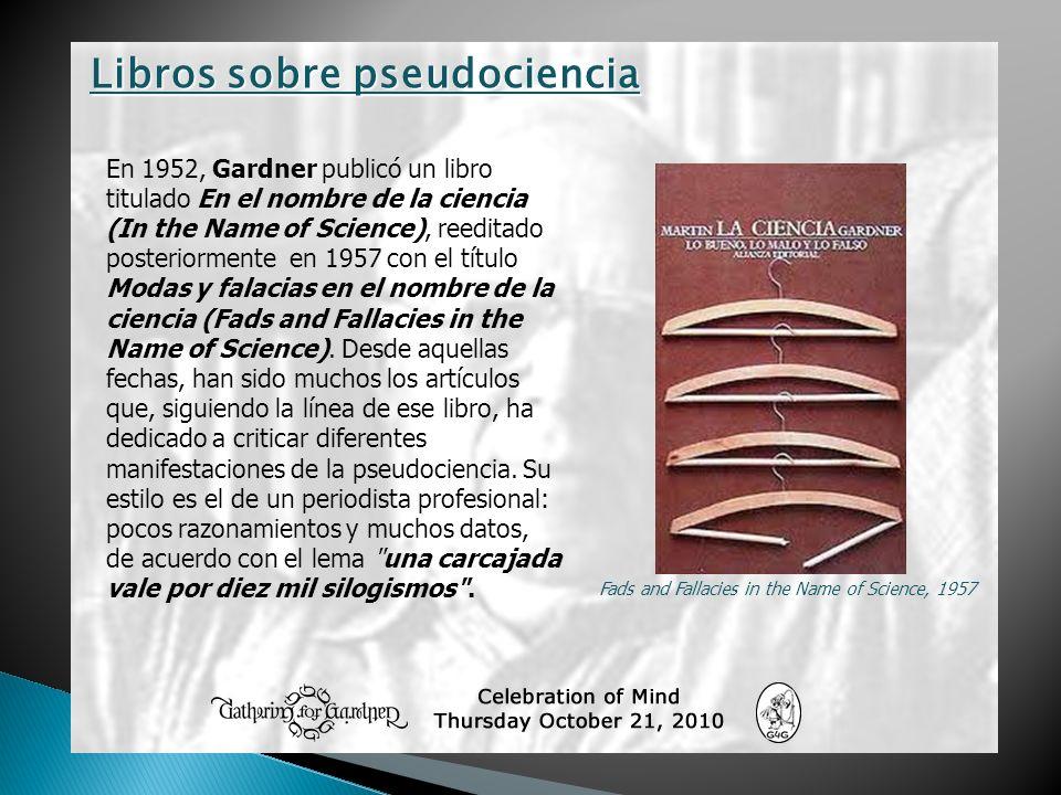 Libros sobre pseudociencia