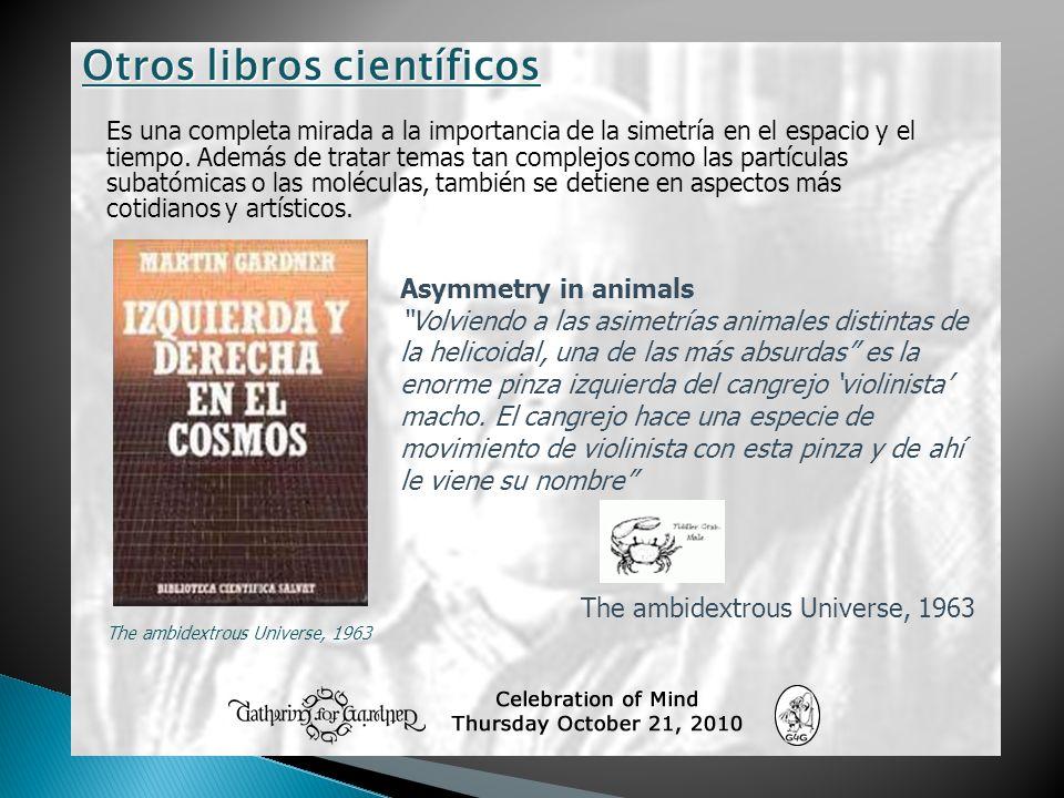 Otros libros científicos