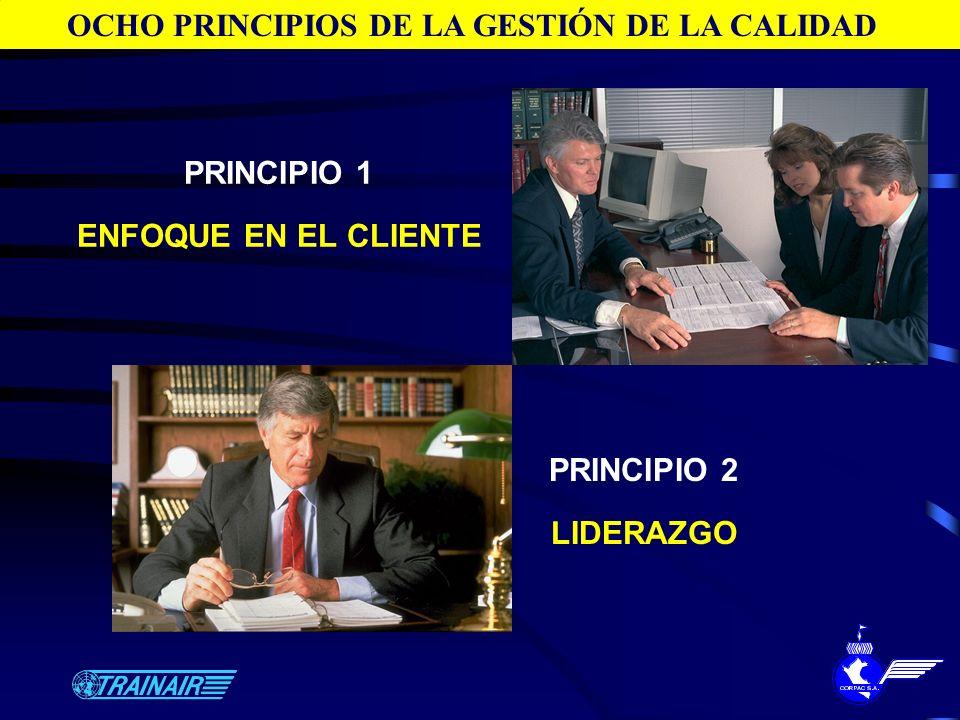 OCHO PRINCIPIOS DE LA GESTIÓN DE LA CALIDAD