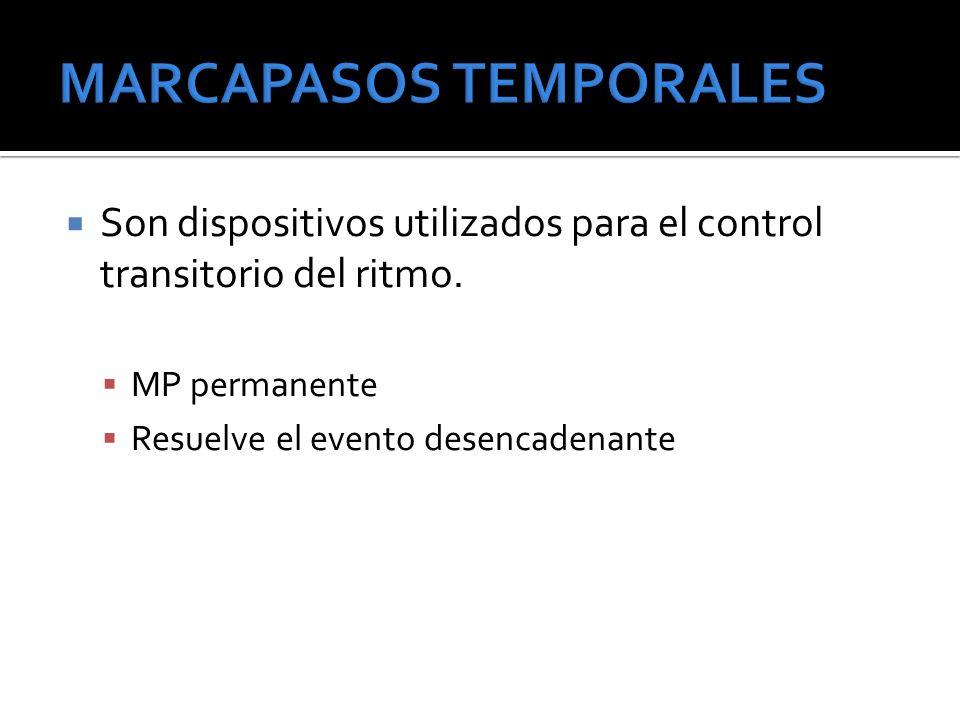 MARCAPASOS TEMPORALES