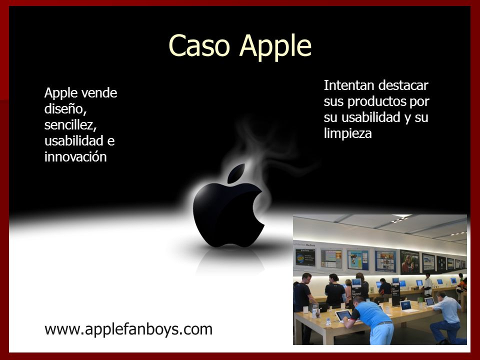 Caso Apple www.applefanboys.com