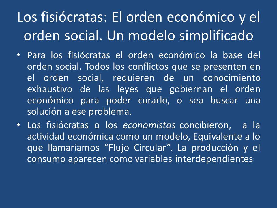 Los fisiócratas: El orden económico y el orden social
