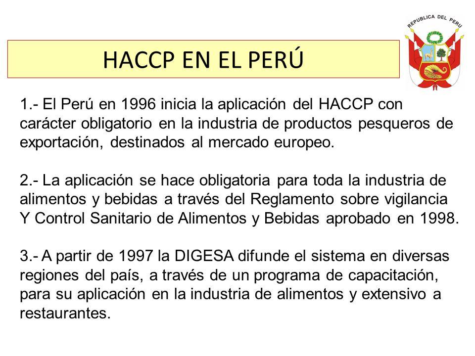 HACCP EN EL PERÚ