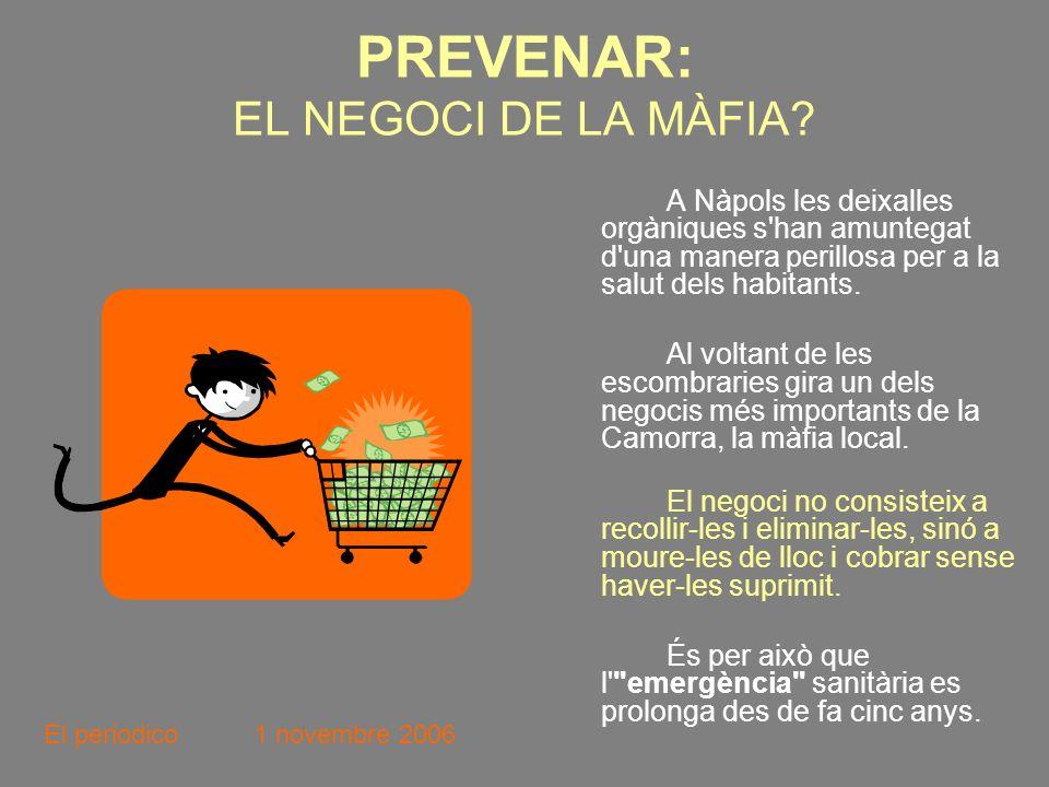 PREVENAR: EL NEGOCI DE LA MÀFIA