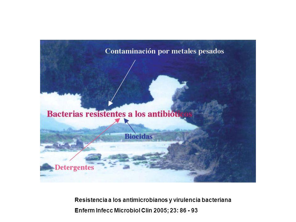 Resistencia a los antimicrobianos y virulencia bacteriana