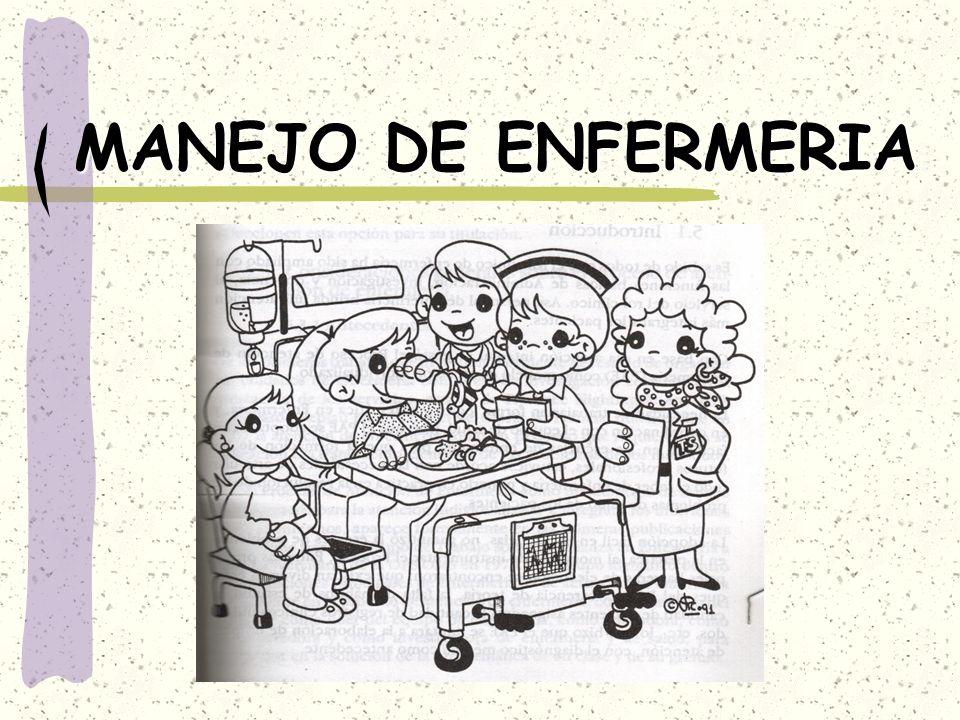 MANEJO DE ENFERMERIA