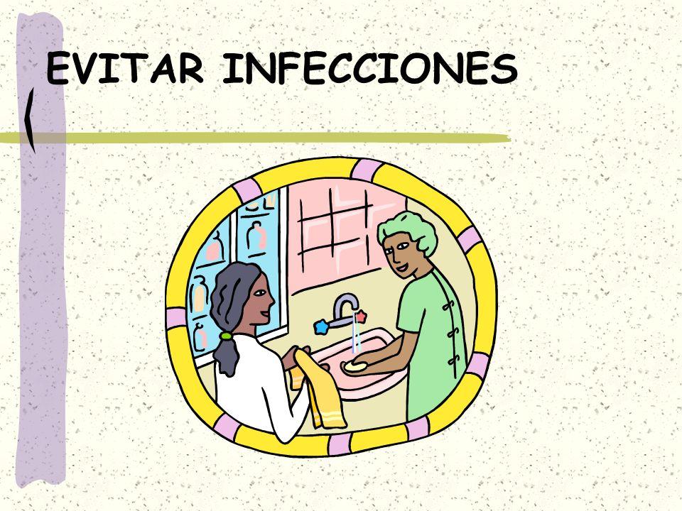 EVITAR INFECCIONES