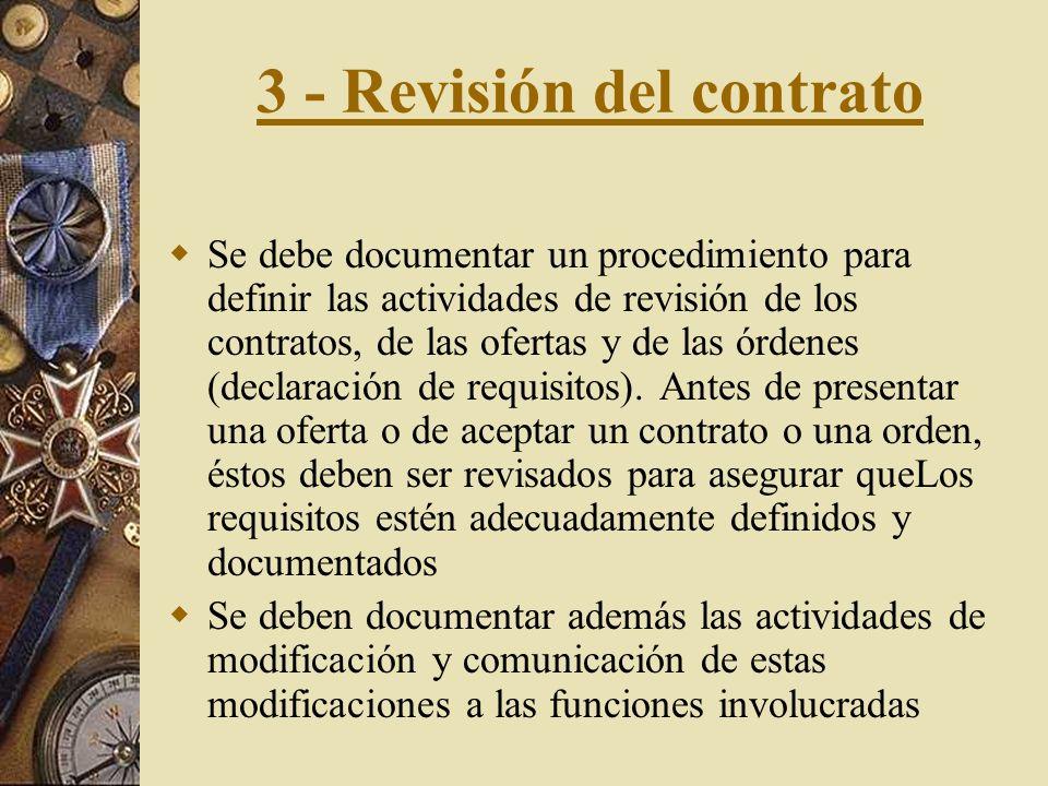 3 - Revisión del contrato