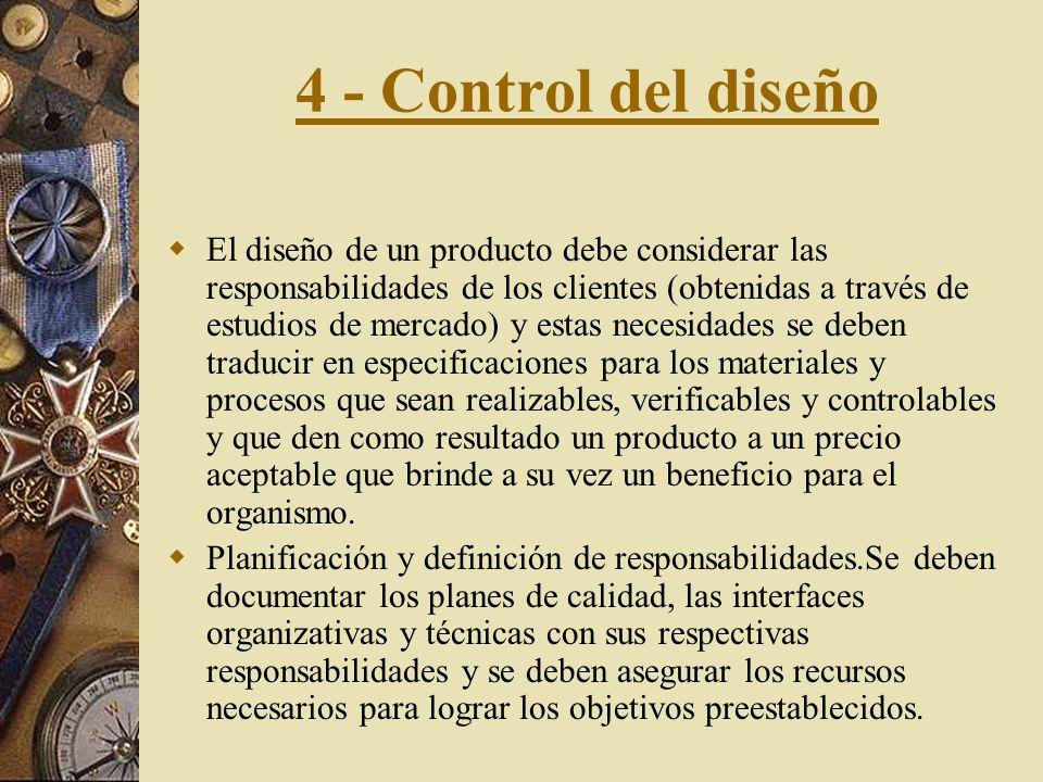 4 - Control del diseño
