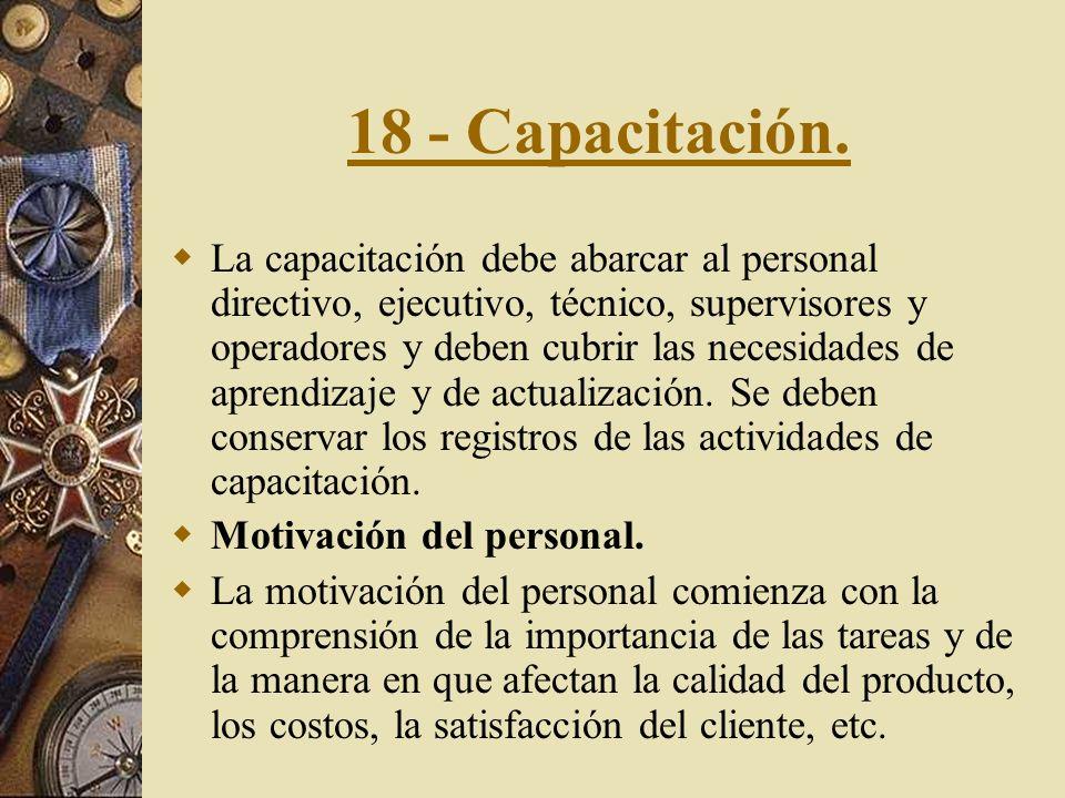 18 - Capacitación.