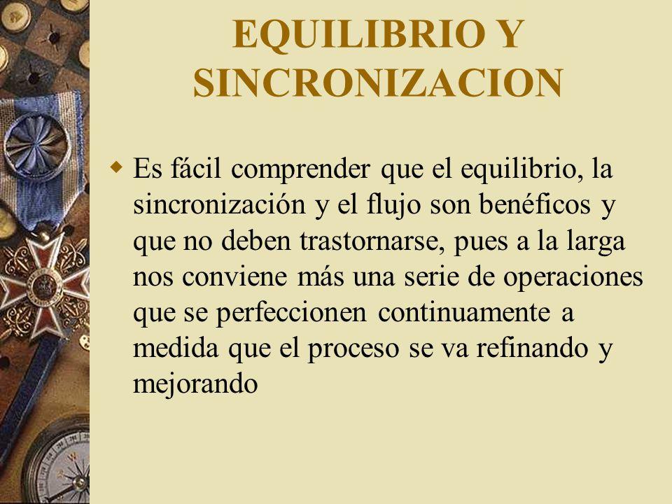 EQUILIBRIO Y SINCRONIZACION