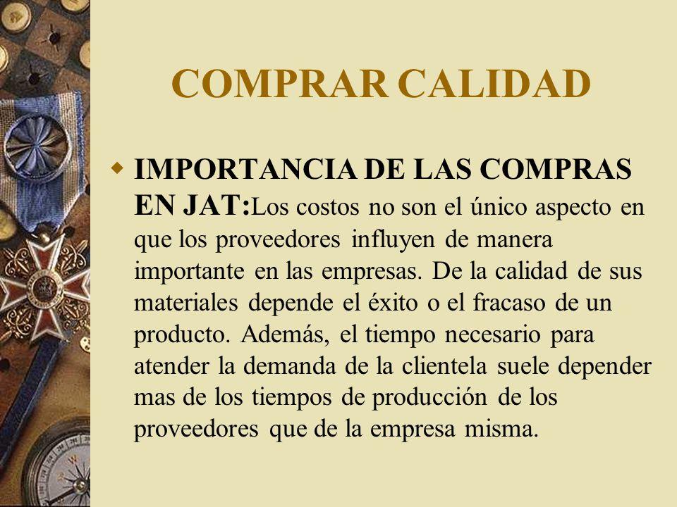 COMPRAR CALIDAD