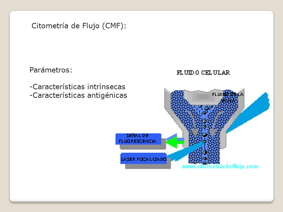 Citometría de Flujo (CMF):