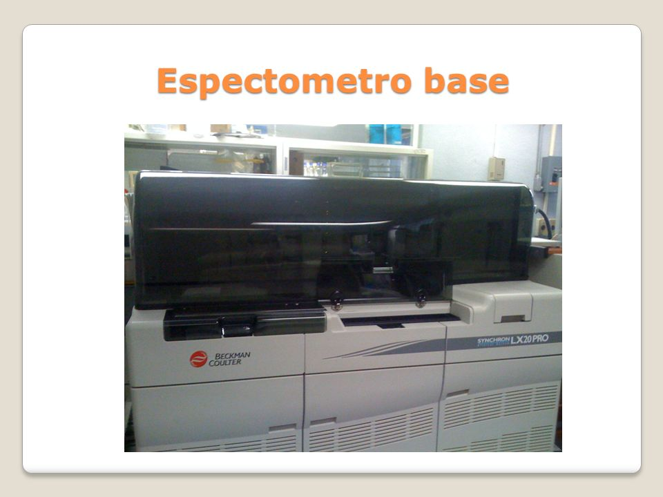 Espectometro base