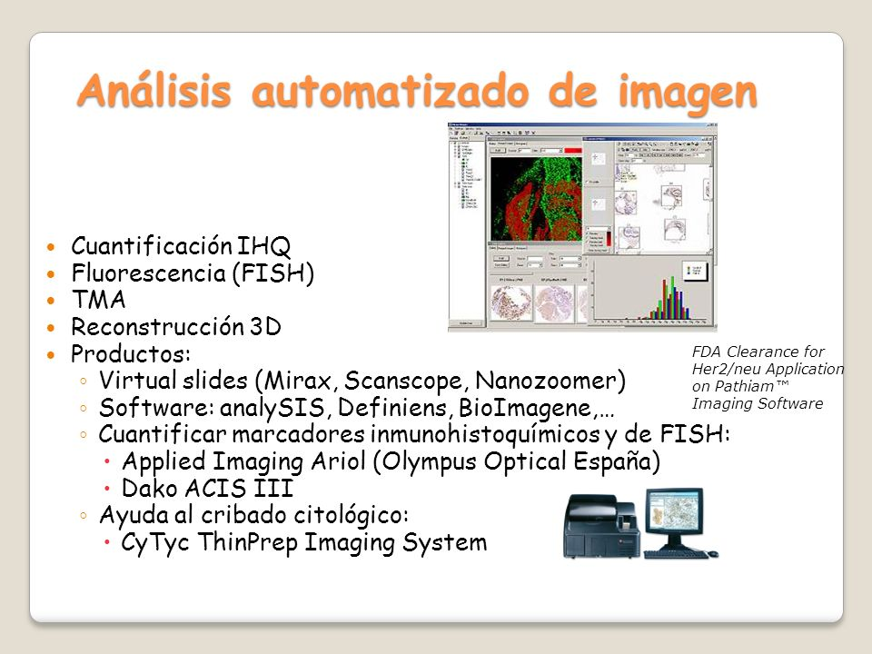 Análisis automatizado de imagen