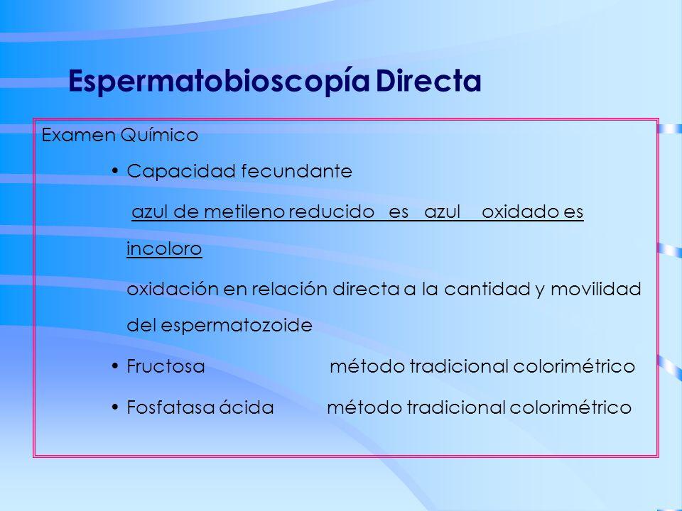 Espermatobioscopía Directa