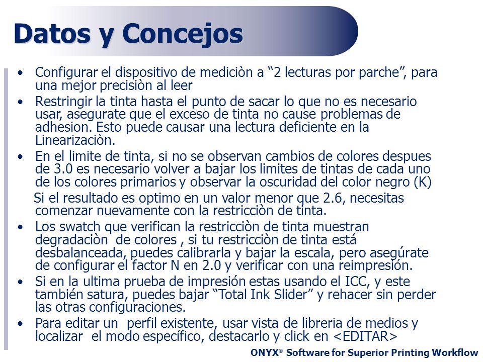 Datos y ConcejosConfigurar el dispositivo de mediciòn a 2 lecturas por parche , para una mejor precisiòn al leer.