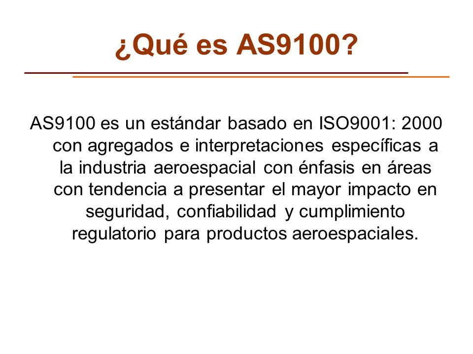 ¿Qué es AS9100