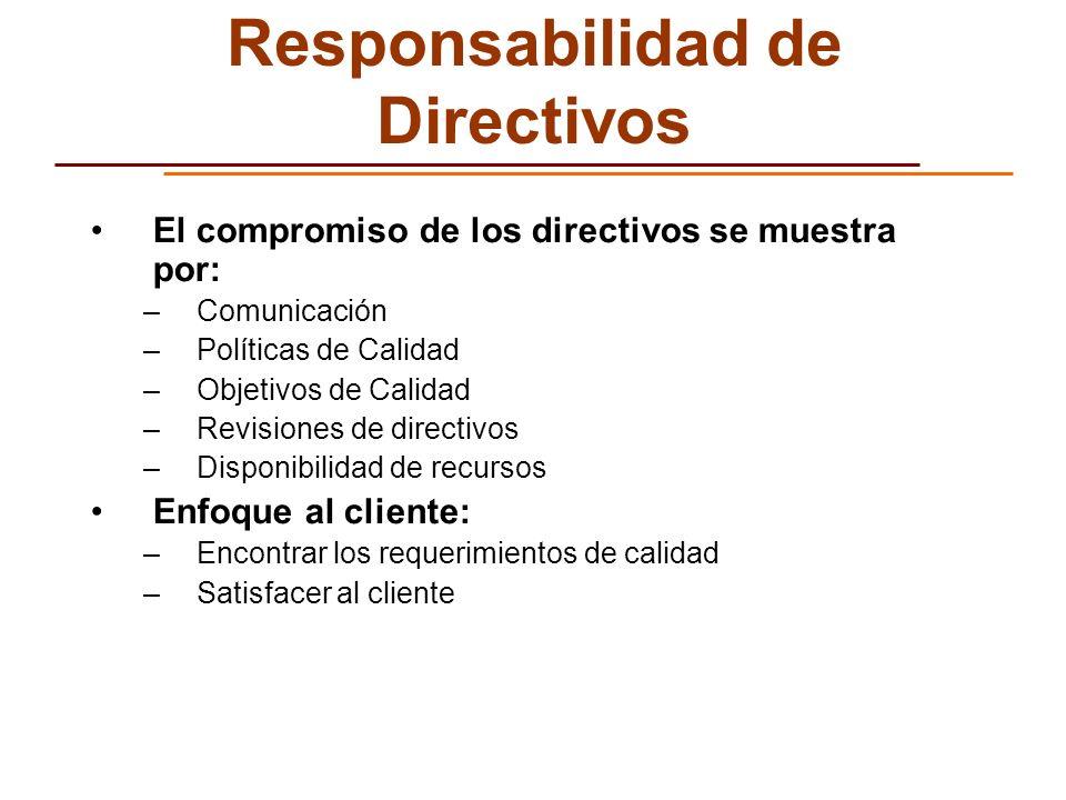 Responsabilidad de Directivos