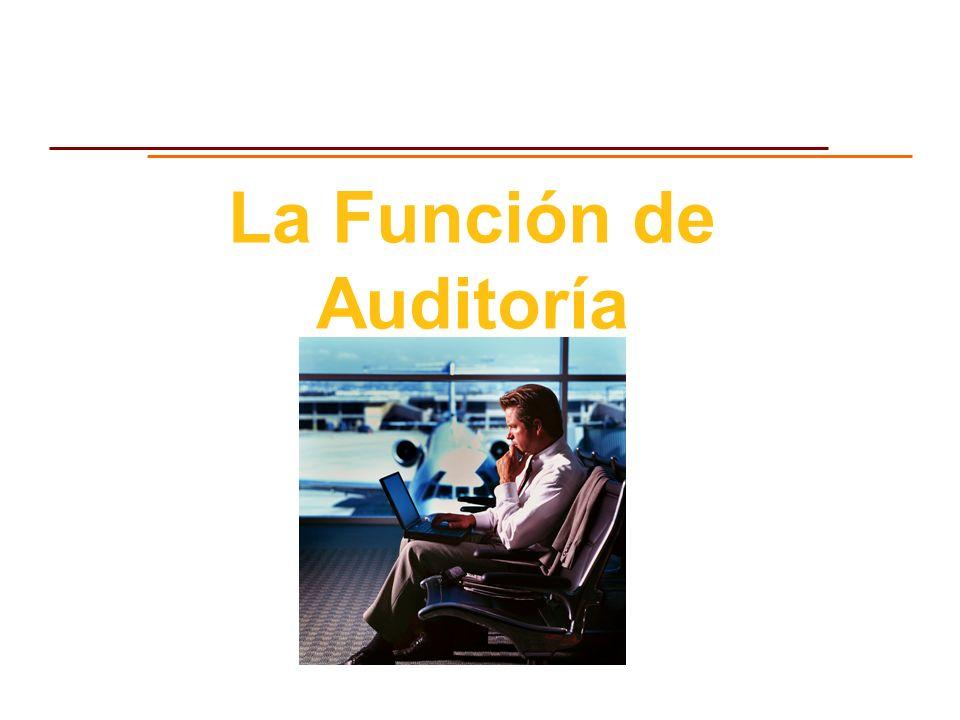 La Función de Auditoría