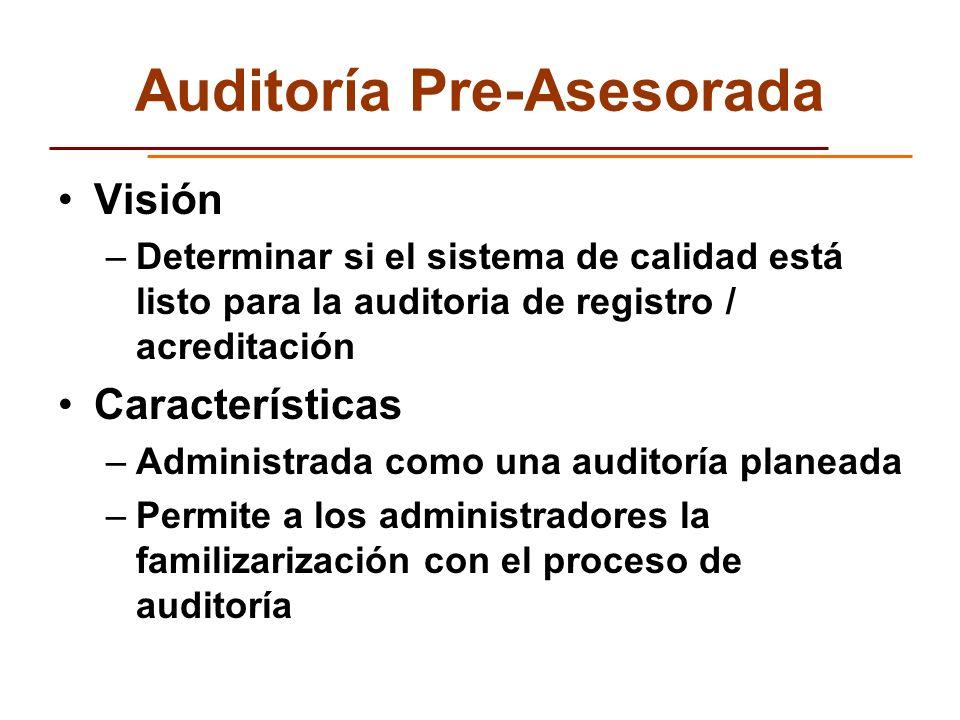 Auditoría Pre-Asesorada