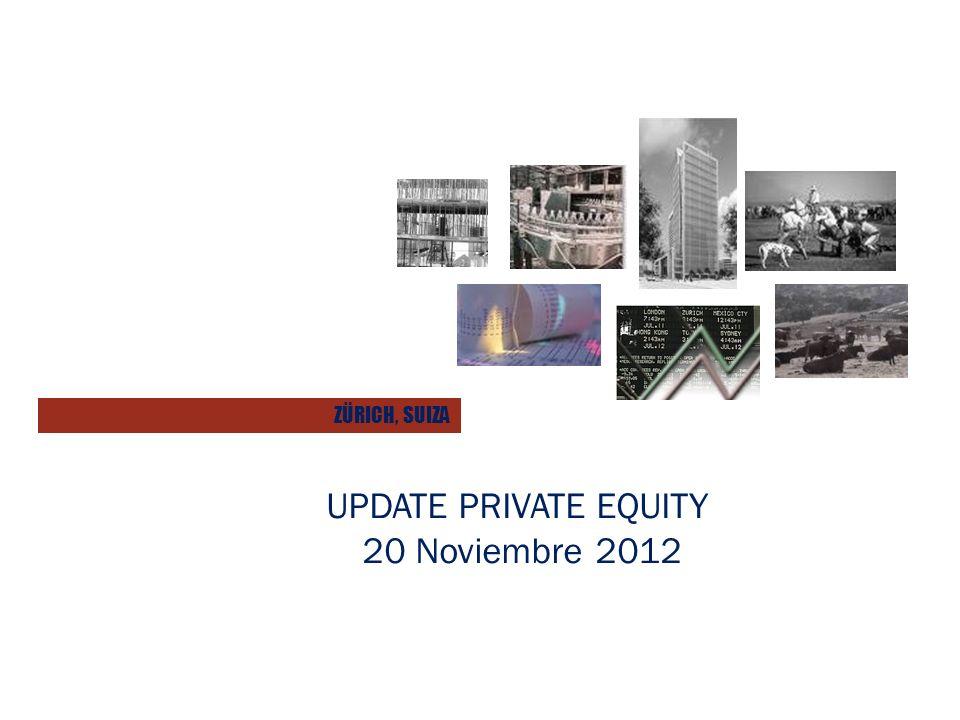 UPDATE PRIVATE EQUITY 20 Noviembre 2012