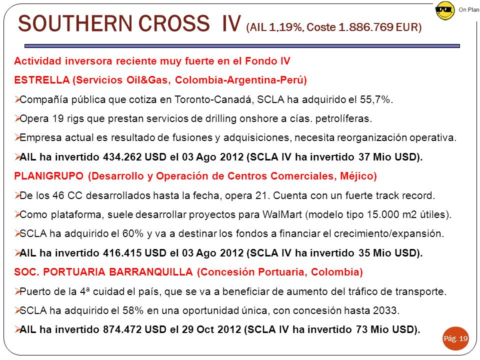 SOUTHERN CROSS IV (AIL 1,19%, Coste 1.886.769 EUR)