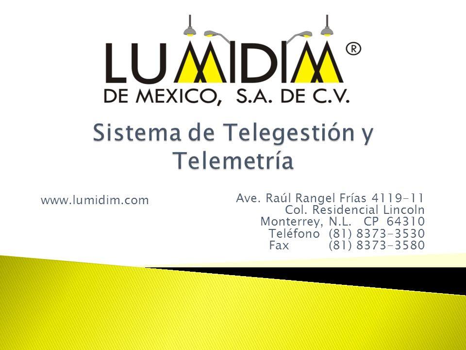 Sistema de Telegestión y Telemetría