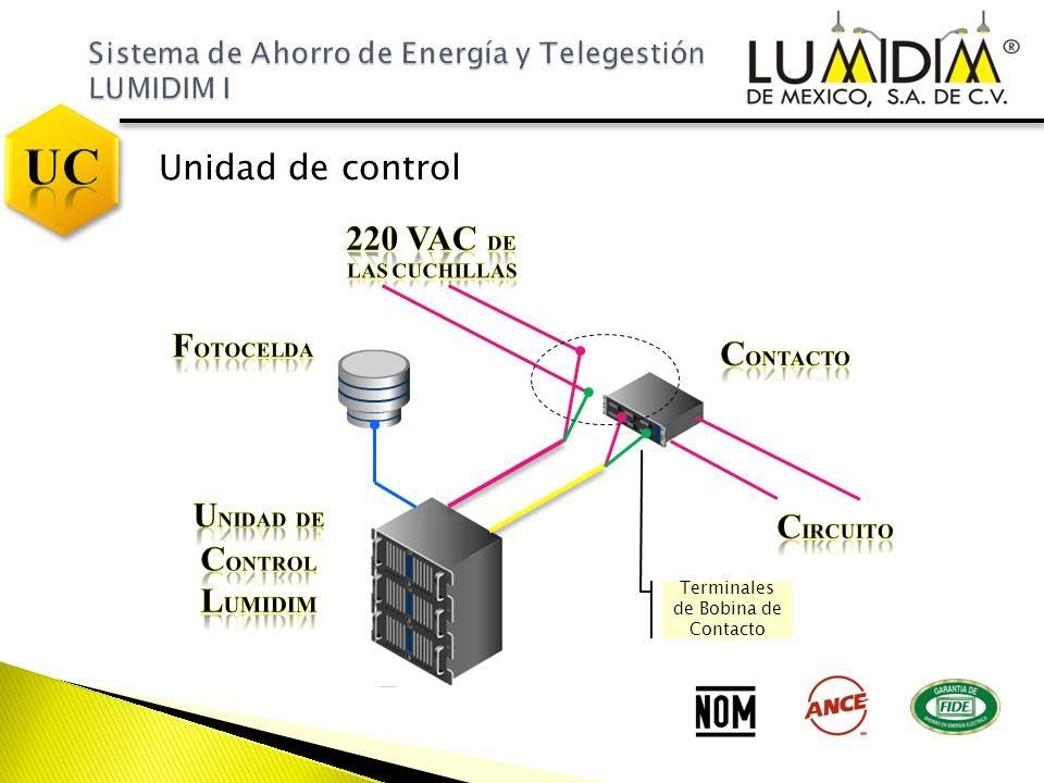 Unidad de Control Lumidim