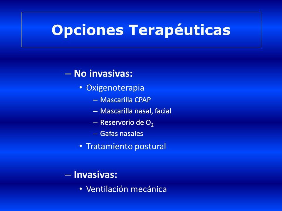 Opciones Terapéuticas