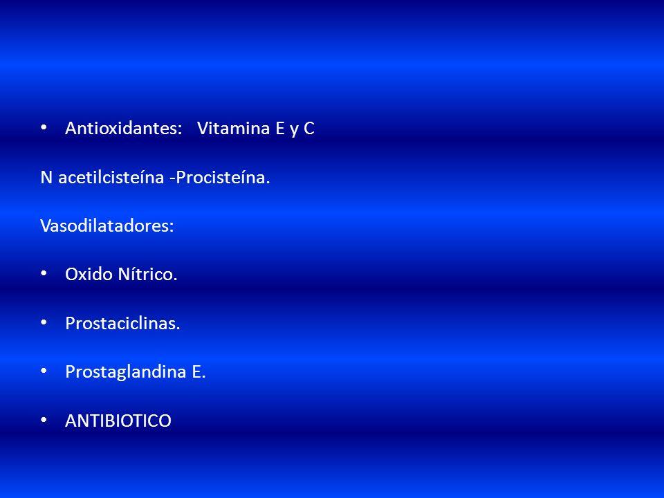 Antioxidantes: Vitamina E y C
