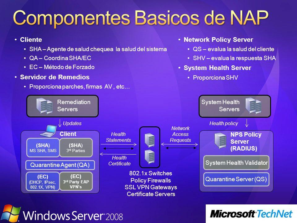 Componentes Basicos de NAP