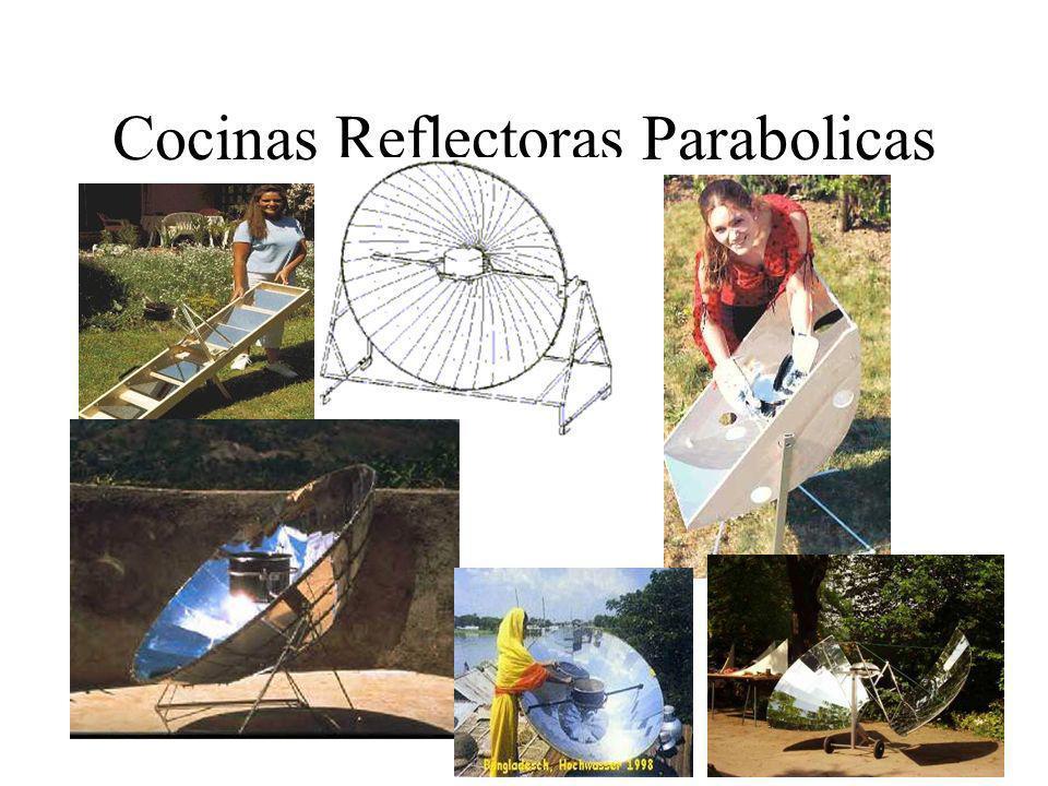 Cocinas Reflectoras Parabolicas