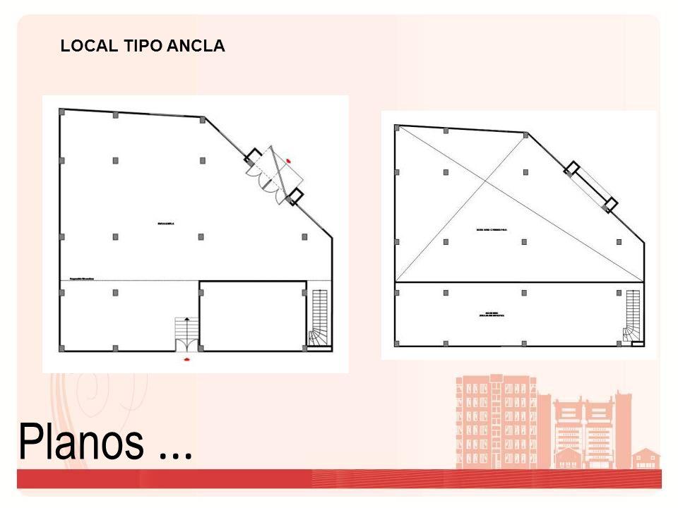LOCAL TIPO ANCLA Planos ...