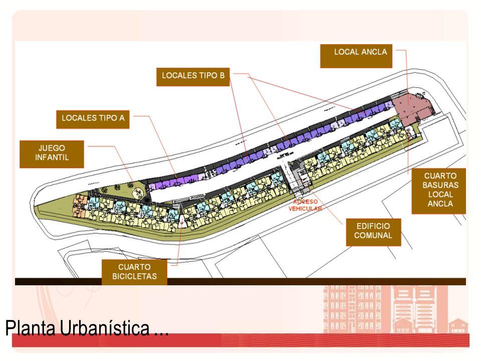 Planta Urbanística ...