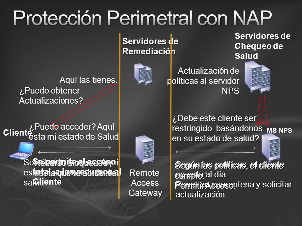 Protección Perimetral con NAP