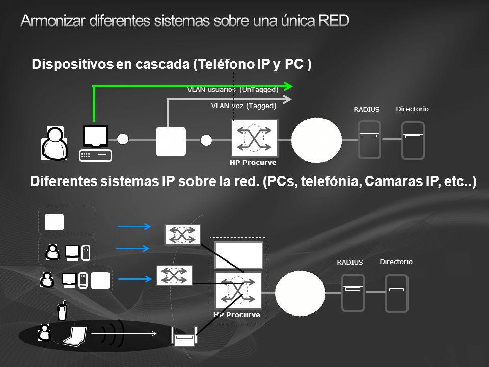 Armonizar diferentes sistemas sobre una única RED