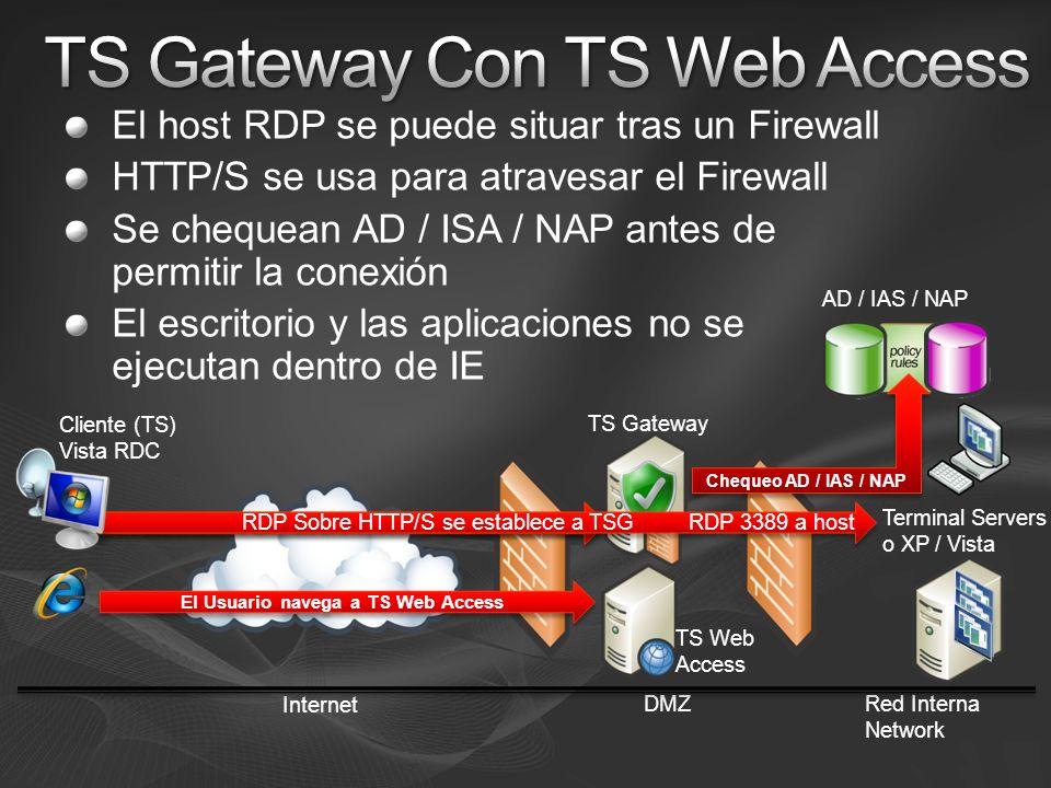 TS Gateway Con TS Web Access