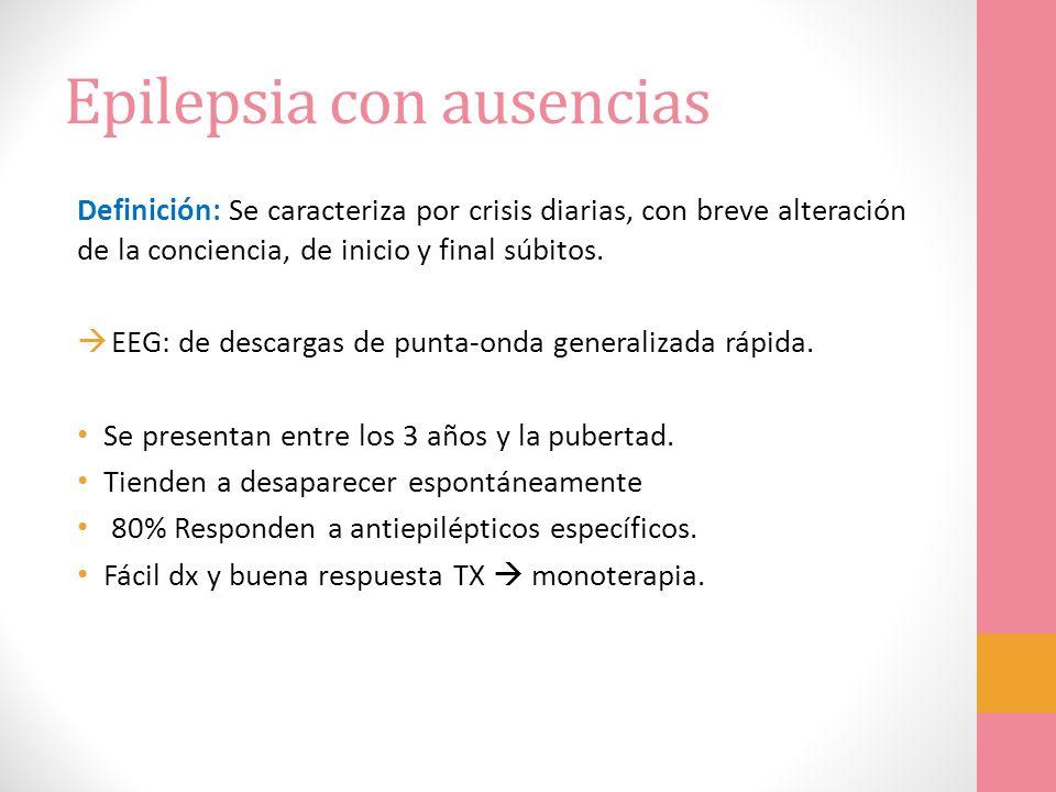 Epilepsia con ausencias