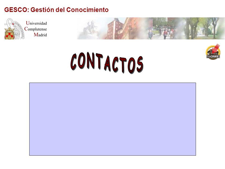 GESCO: Gestión del Conocimiento